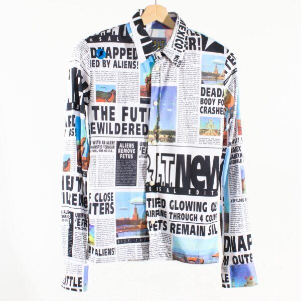 Walter van Beirendonck W&LT S/S'97 Welcome Little Stranger Shirt