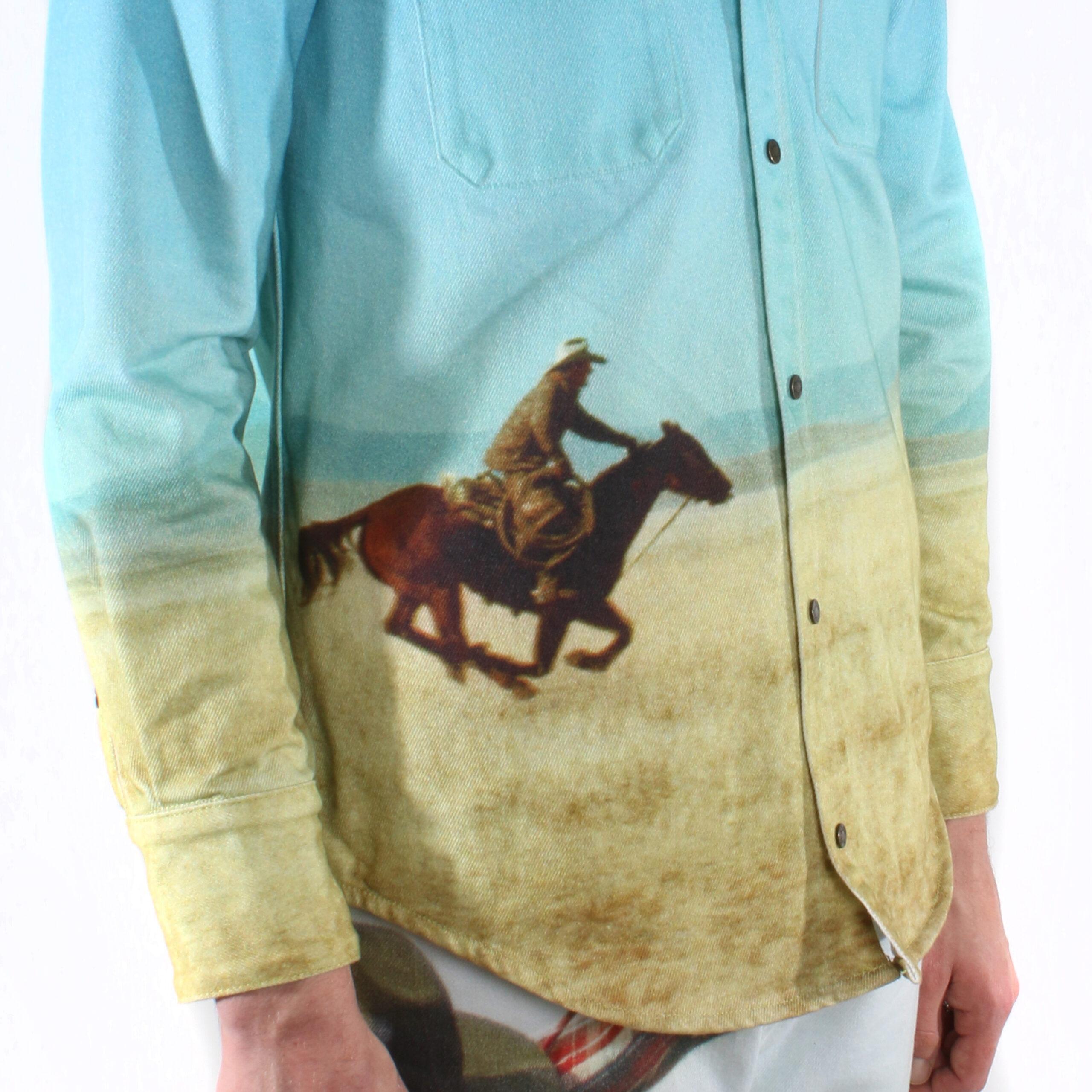 Calvin Klein Est. 1978 By Raf Simons Western Shirt