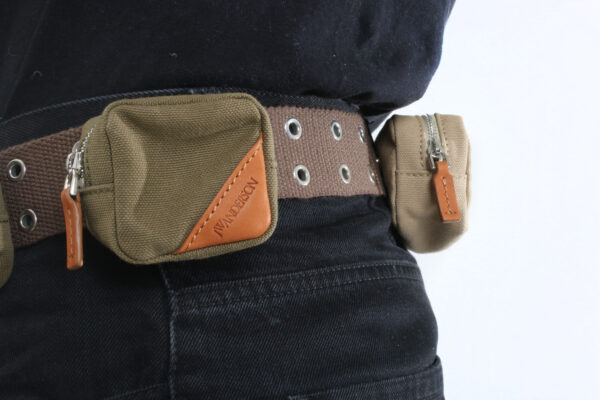 JW Anderson AW18 Multi-Pouch Belt Bag