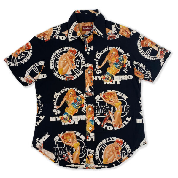 Hysteric Glamour Pin-Up Skater Shirt