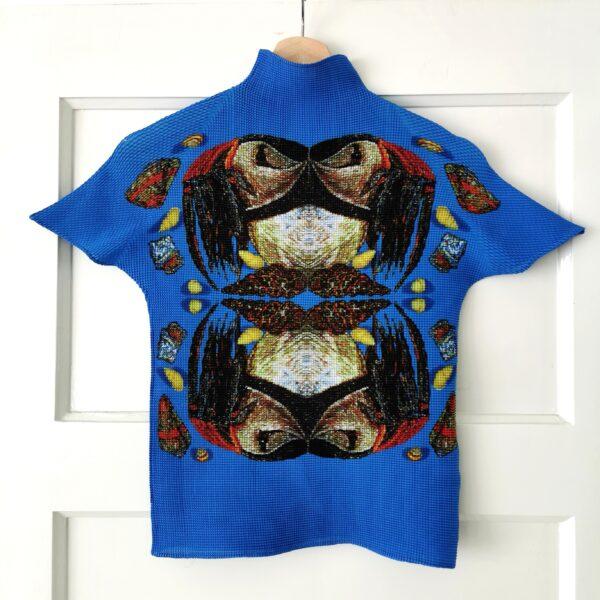 Issey Miyake Pleats King Crab High Neck
