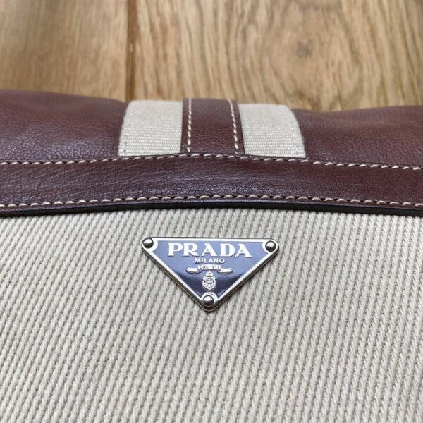 Prada Mainline Bowler-Tote Hybrid Shoulderbag