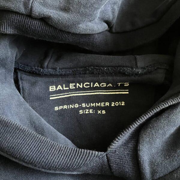 Balenciaga S/S'12 Block Lettering Hoodie