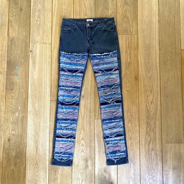 Acne Patchwork in Canyon Jeans