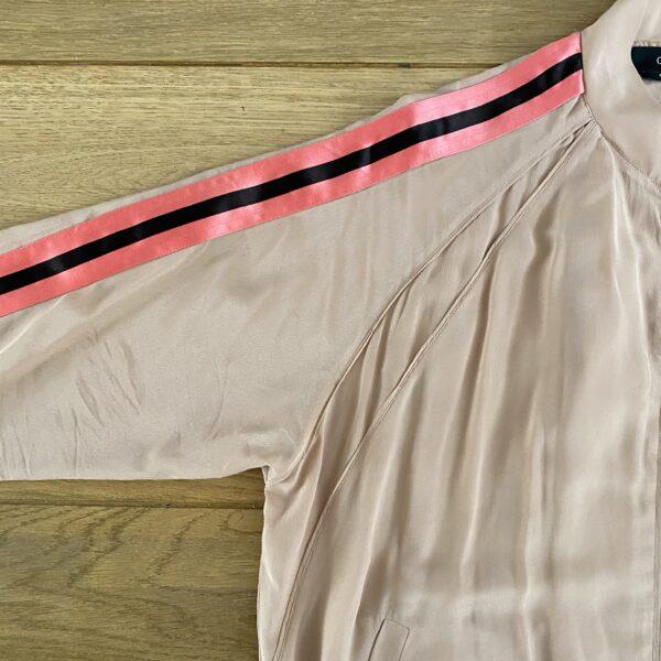 Gucci '03 Silk Varsity Bomber