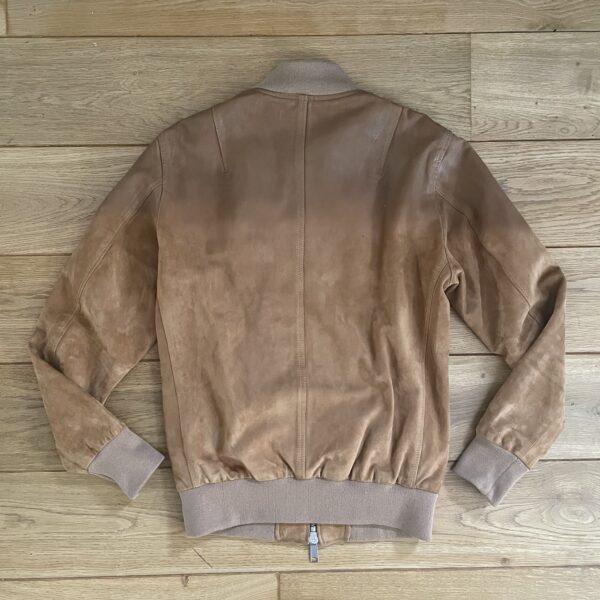 Katharine Hamnett 90s Goatskin Gradient Leather Jacket