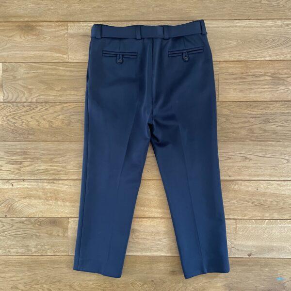 Prada F/W'18 Ruby Techno Jersey Logo Pants