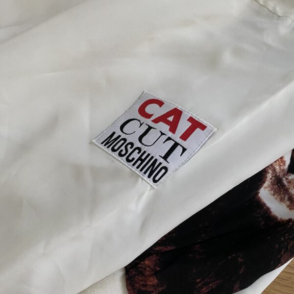 Moschino Jeans 90s Cat Cut Bomber