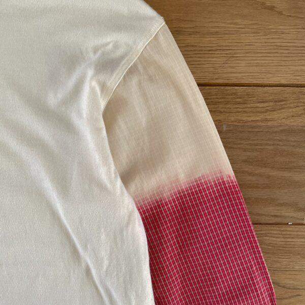 Issey Miyake Men Broken White Gradient Cut 'N Sew Longsleeve